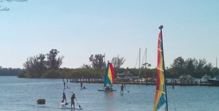 Paddleboarding at Club Med Sandpiper Bay