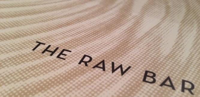 Aboard the Breakaway: Raw Bar