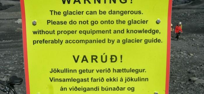 Inside Iceland: Hiking a Glacier