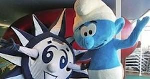 Smurfs now delighting passengers on MSC Divina