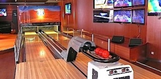 MSC Divina offers two mini bowling alleys for sportsters