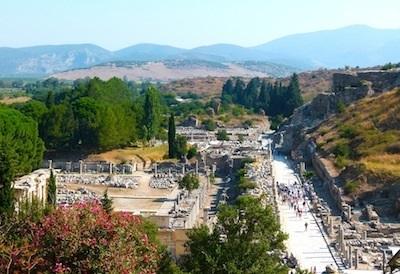 Shore Excursion: Ruins of ancient Ephesus in Turkey