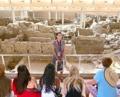 Shore Excursion: Are Santorini ruins the fabled Atlantis?