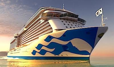 Princess Cruises debuts new livery design on Majestic Princess