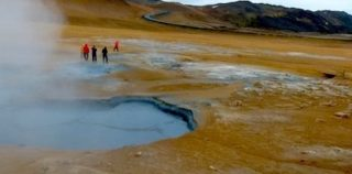 Taking a stinky trip to Iceland's 'hell'