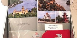 Viking info box helps prepare for cruise