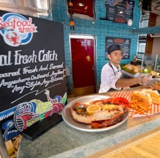 New Carnival Vista showcases diverse flavors from around the world