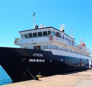 Boarding MV Athena for Grand Circle cruise is a breeze