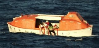 ms Veendam cruise ship honored for daring sea rescue of downed pilot