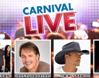 Carnival LIVE announces 2017 lineup with music, comedy