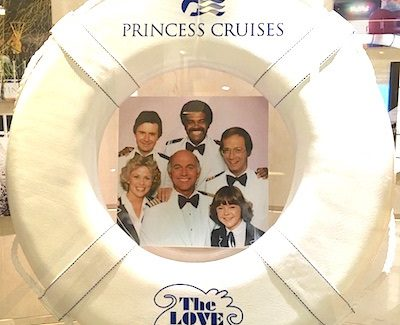 Connection between the 'Love Boat' and Princess Cruises