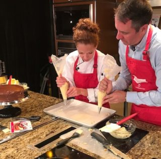 Holland America shares tips for cake decorating