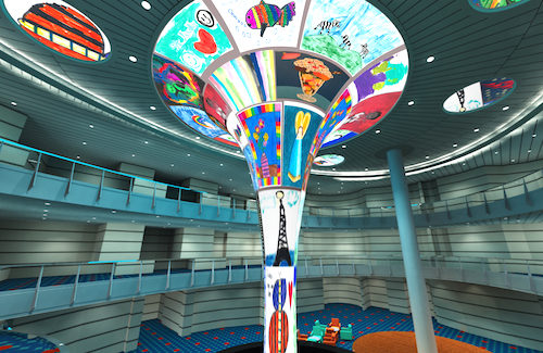 Carnival Horizon Dreamscape to feature work by St. Jude Children's Hospital patients