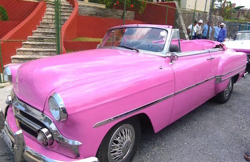 Shore Excursion: 1950s American cars still cruising in Cuba