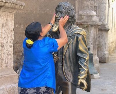 Shore Excursion: Statue in Havana, Cuba, honors 'crazy' man