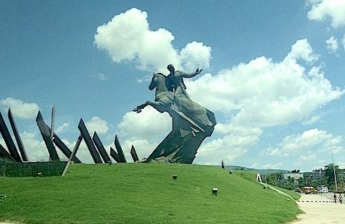 Shore Excursion: Revolution Square in Santiago, Cuba, celebrates freedom fighters