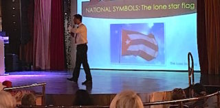 Learning about Cuban flag, anthem and coat of arms