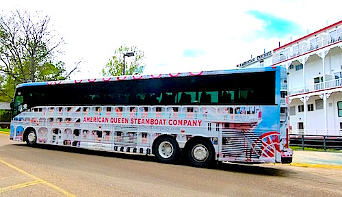 'Steamcoaches' add to American Duchess shore excursions