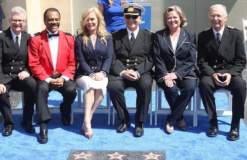 "Princess Cruises and ""The Love Boat"" cast honored on Hollywood Walk of Fame"
