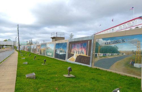 How 'Teddy Bears' got their name told on Vicksburg flood wall