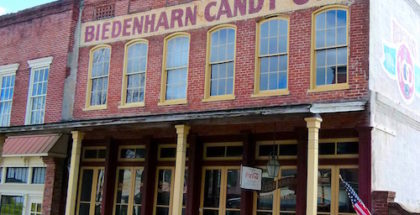 The Biedenharn Coca-Cola Museum is housed in the old building where Coke was first bottled