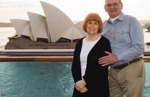 Woman Marks 282nd Cruise With Princess Cruises
