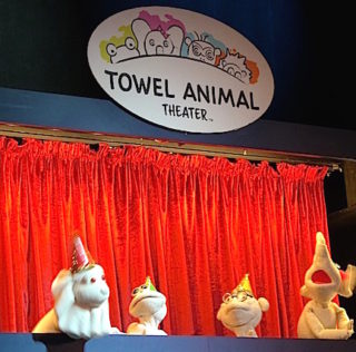 Carnival Victory Towel Critters Have Their Own Entertaining Show