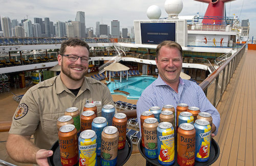 Pop a top on Carnival's New Canned Craft Beer