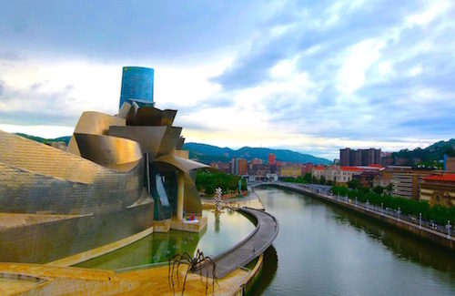 Visiting Bilbao, Spain: Guggenheim Museum Provides Spark for Revitalization of Bilbao