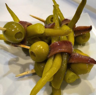 Shore Excursion: Eating Spanish snack of pintxos in Basque Country