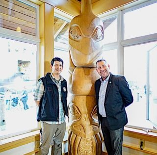Princess Cruises Presents Ketchikan with Totem Pole