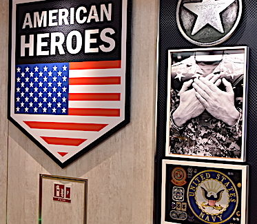 Carnival salutes military men, women with Heroes Tribute Bar