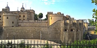 Tower of London a forbidding structure