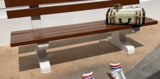 Cruise Trivia: Where is this bench and why is it here?