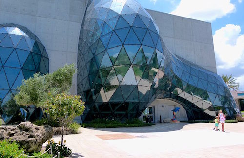 Explore Dali's surreal dreams at unusual Florida museum
