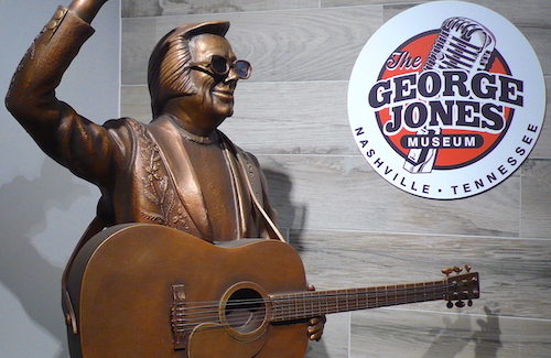 County Music Legend George Jones Honored at Museum